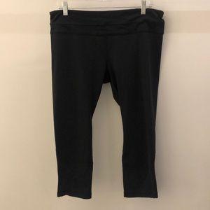 Lululemon black crop legging, sz 12, 67765